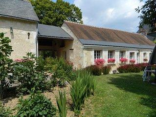 Dans le Val de Loire  gîte d'exception le Chardonnay