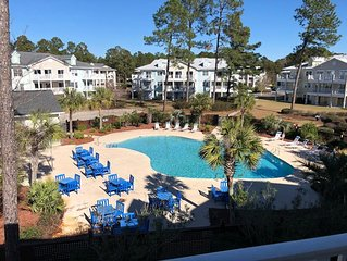 Calabash Poolside Golf Community Condo Close to Myrtle Beach