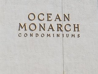 Ocean Monarch Condo's #102 is  beach block unit with a pool in North Wildwood.