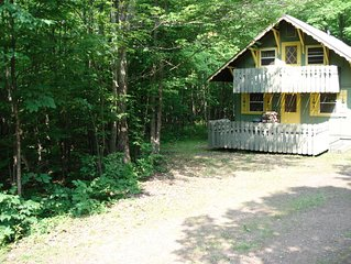 WALDHEIN CHALET IS AVAILABLE FOR SKIING AND SNOWMOBILING FUN IN GREAT SNOW