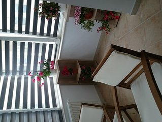 Deluxe Apartament Mamaia Constanta.This property is 1 minute walk from the beach