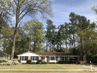 4 Bed/2 Bath Home for Master's Rental Located 2 Miles from Course
