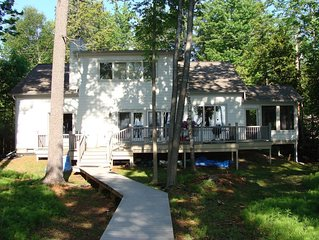 Perfect spot for family and friends-inland lake, 3 miles from Lake Michigan!