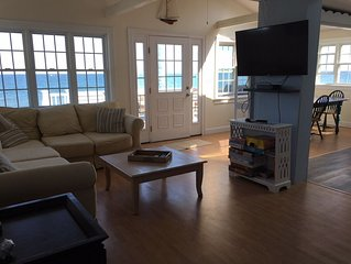 Private Ocean Front Home On Family Friendly Beach In Duxbury, Ma