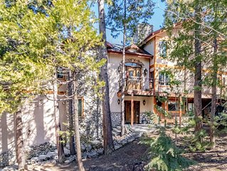 Large and Luxurious lake-area home bordering the forest