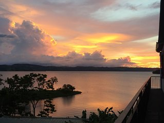Magnificient Lakefront Property located on the Bay of Lake Arenal