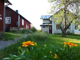 Nice old style cottage close to the Baltic Sea