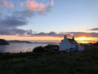 SPACIOUS FAMILY FRIENDLY COTTAGE: SPECTACULAR SEA VIEW