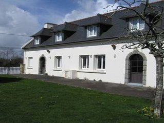 A spacious farmhouse close to the Artists' town of Pont Aven and several beaches
