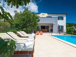 Lovely villa in the seaside resort of Medulin