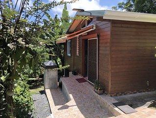 Maison avec jardin, 2  bungalows