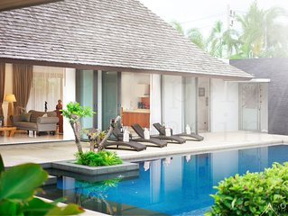 Luxurious Private Balinese Villa with huge pool