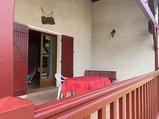 Maison familiale landaise pour vacances sur Sanguinet