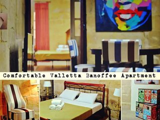 Typical Maltese 2 bedroom apartment in city center