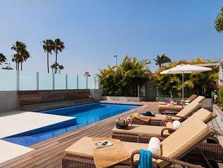 Modern & Lyxig villa i Playa del Ingles