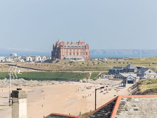 Luxury Newquay Self Catering Holiday Accommodation next to Fistral beach