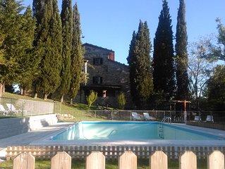 Casale parco piscina in esclusiva - vacanze ,feste private ,gruppi numerosi