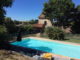 Beautiful Pigeonnier, nicely restaured, with private pool
