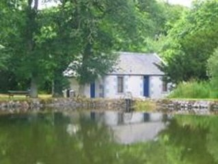 Pond Cottage, Carmichael Country Cottages. Pets welcome.