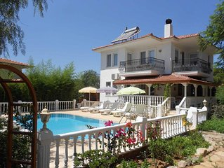 Yelkenli Villa is a Private Villa with Forrest and mountain views.