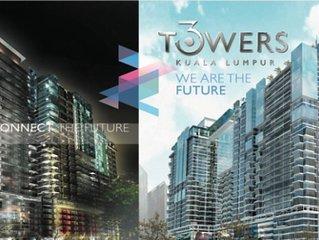 3 Towers KL City *SH NA NA Duplex Unit