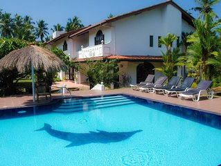 Superb Villa with pool, close to the beach in Sri Lanka