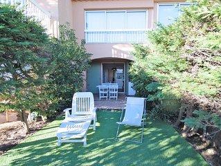 Appartement T2 - 4 personnes - Climatisation - Face plage Nartelle - Sainte Maxi