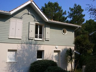 3 bedroom house close to beach, lake & golf at Lacanau Ocean with shared pool