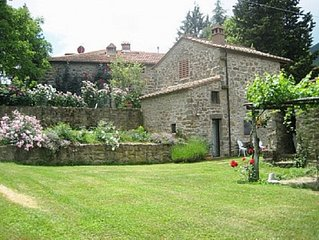 Cantina Di Bacco: Charming Cottage, Shared Pool And Valley Views near Florence