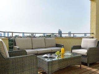 Luxueux Penthouse-Solarium+Parking-ROTHSCHILD/SHEINKIN