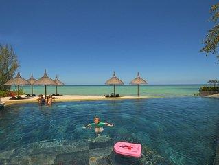 appartement luxueux pied dans l'eau avec piscine, femme de menage, wifi gratuit