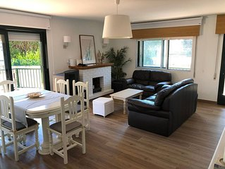 Casa con jardín a 200 mts de la playa