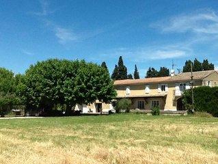 Chateaurenard: Magnifique Gite dans Mas des proprietaires