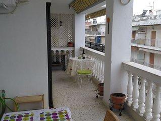 GreekHouse4Rent in Peraia (Charming Quiet, CloseSea & Airport Shuttle Free)