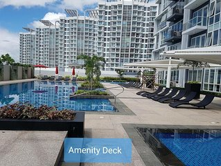 Furnished 1bedroom Beach Condo Mactan Cebu