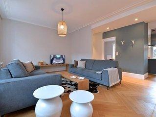 Coton .  Profitez d'un appartement pour 8 personnes confortable et spacieux.