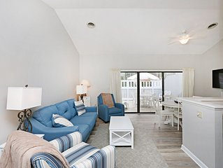6803W: Renovated 2BR Sea Colony West condo! Private beach, pools, tennis ...