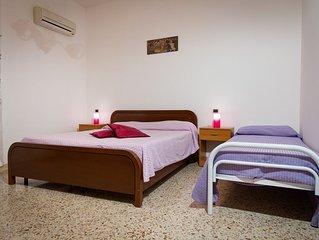 appartamento con veranda  a pochi passi dal Golfo di Castellamare, Sicilia
