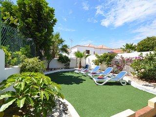 6 Bedroom Villa. Central Las Americas. 2 Heated Communal Pools. Sleeps 12.