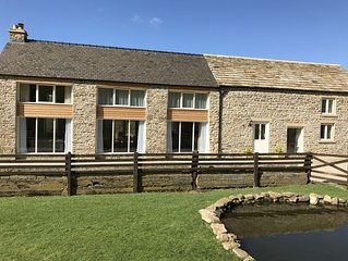 Barn conversion sleeps up to 9 in beautiful Weardale