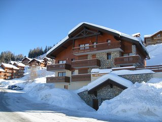 Superb Apartment  in Vallandry - 300m from  Ski Lift