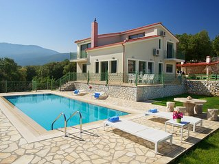 Utopia Luxury Villa with panoramic sea and mountain views!