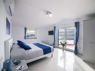 Villa Bellatrix - Villa con piscina privata e vista panoramica - Mintaka