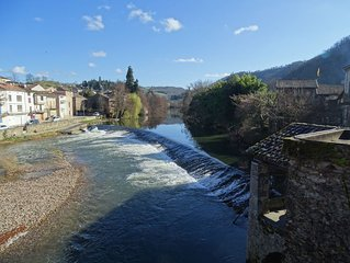 Apartment in the market town of Laguépie near to Najac