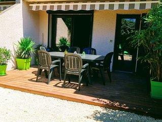 Villa patio de charme à 500m de l'océan