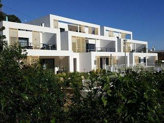 Bord de mer,T4 neuf, 3 chambres, terrasse, piscine