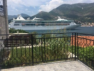 large coastal villa amazing views near beach and Tivat airport