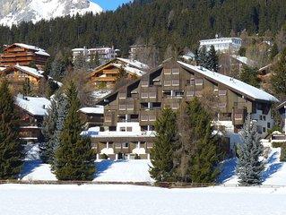 Ferienwohnung Belle-Rive in Crans-Montana - 5 Personen, 2 Schlafzimmer