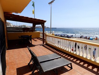 Beachfront house with 4 bedroom in Medano Beach