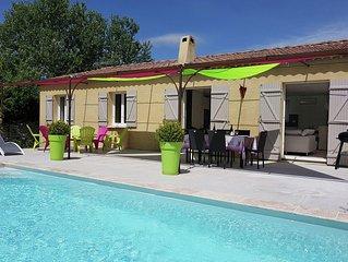 Cozy Villa in Lirac France with Private Pool